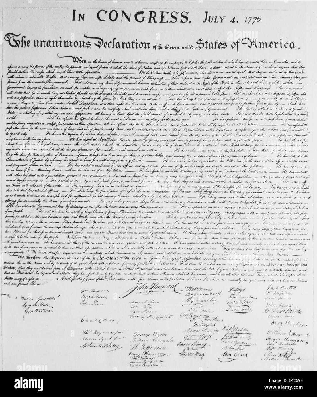 Charmant Deklaration Der Unabhängigkeit Vorlage Ideen - Beispiel ...
