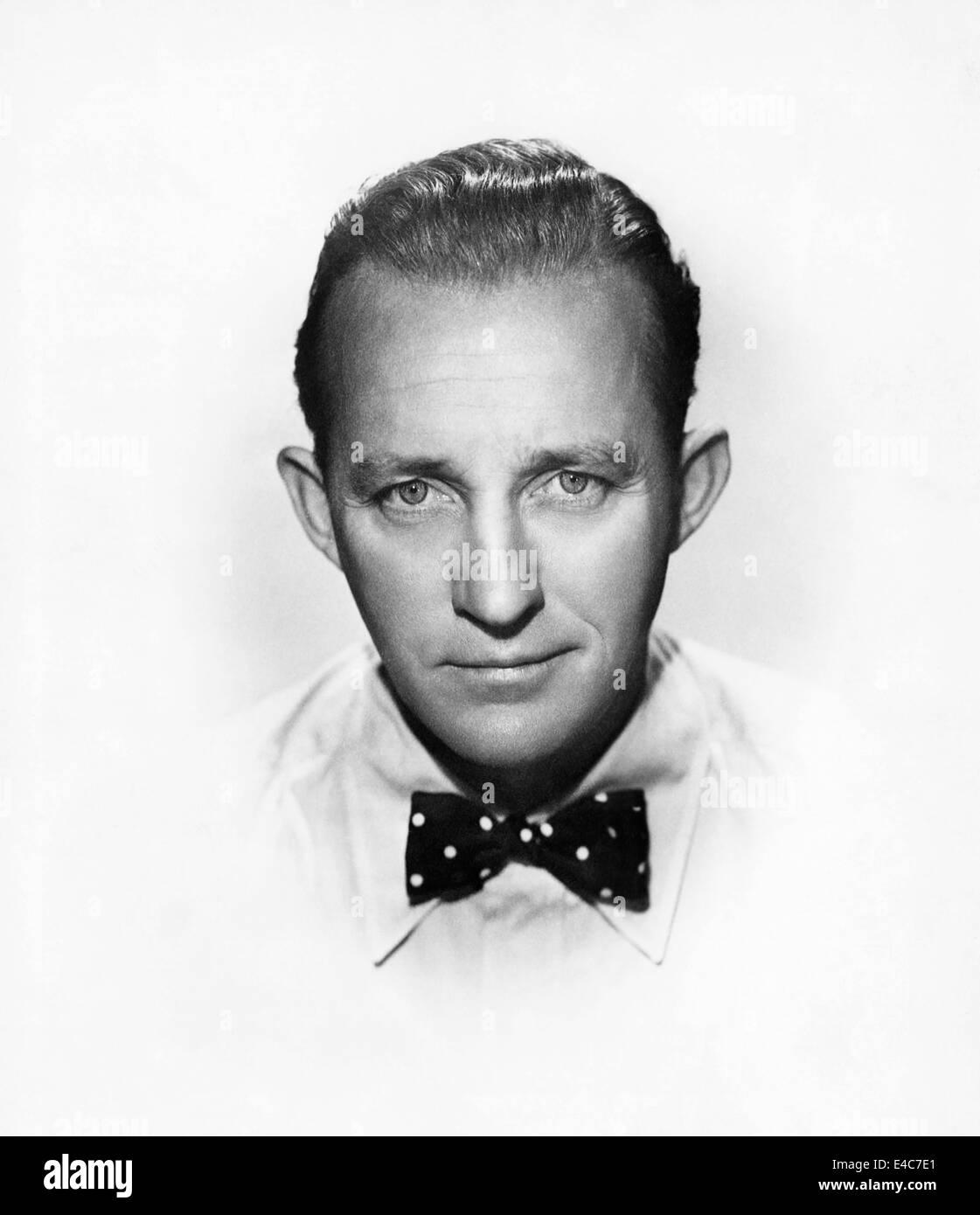 Bing Crosby, Werbung Portrait, ca. 1955 Stockbild
