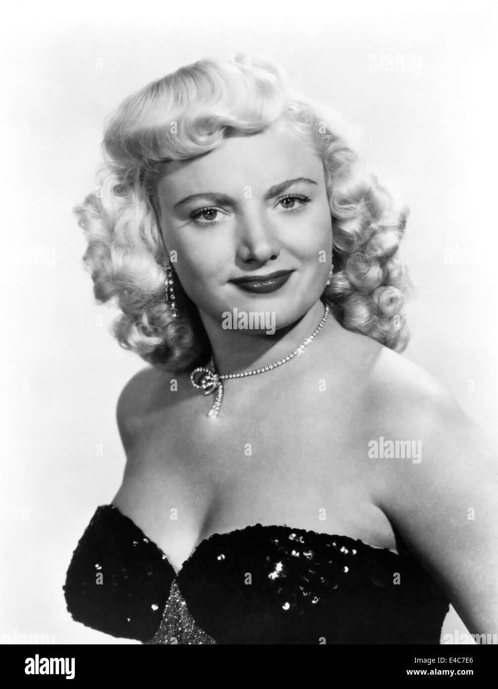Dagmar, US-amerikanische Schauspielerin, Porträt, etwa Anfang der 50er Jahre Stockfoto
