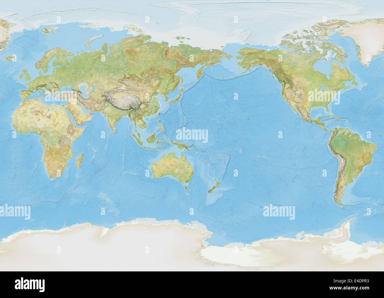 Arctic Ocean On Map Stockfotos & Arctic Ocean On Map Bilder - Alamy