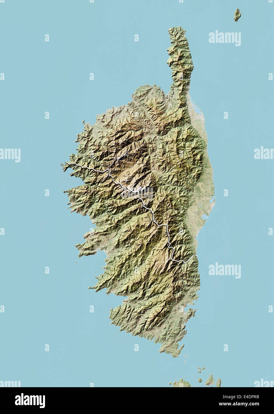 Map Corsica Stockfotos & Map Corsica Bilder - Seite 2 - Alamy