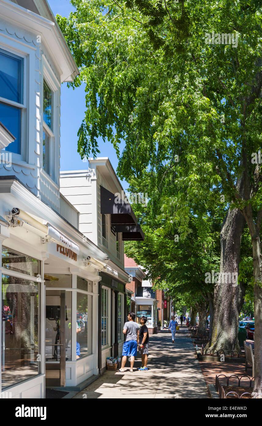 Usa east hampton shopping stockfotos usa east hampton for Hamptons long island