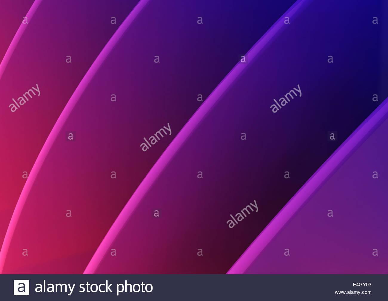 Abstrakte full-Frame-lila Ridge Muster Stockbild
