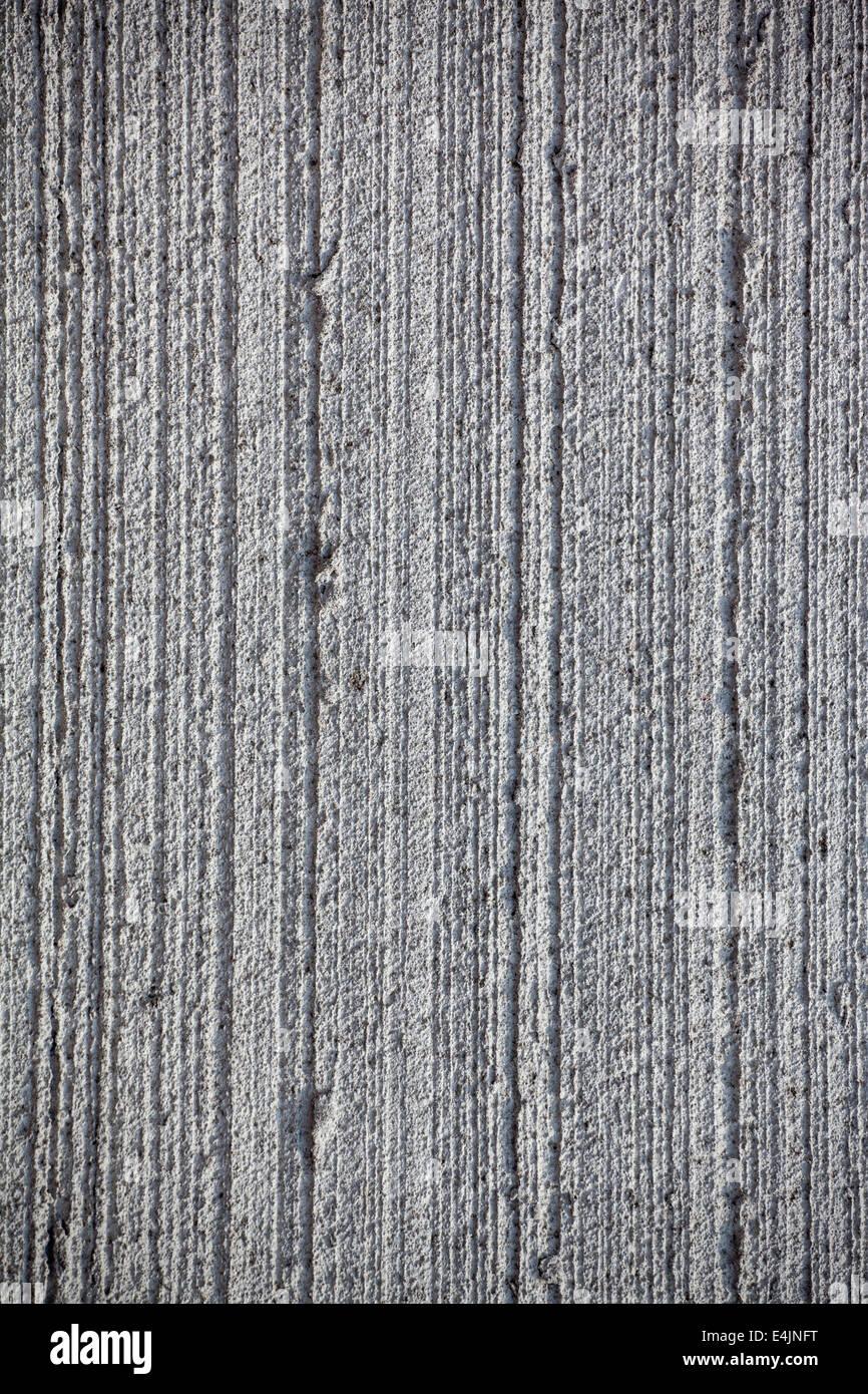 Grau gestreift Betontextur Stockbild