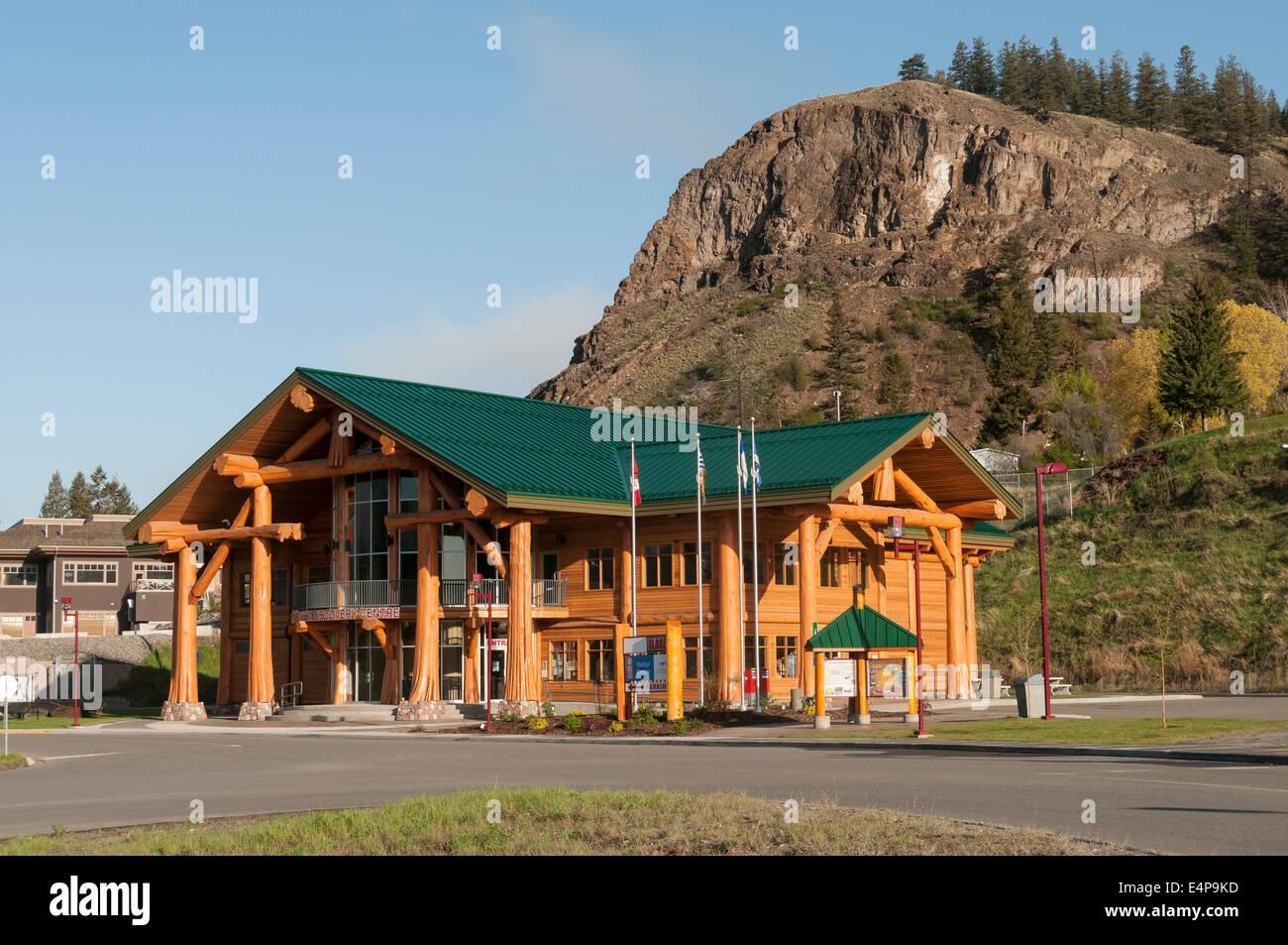 Elk203-3138 Kanada, Britisch-Kolumbien, Williams Lake, Tourismus Discovery Center Stockbild