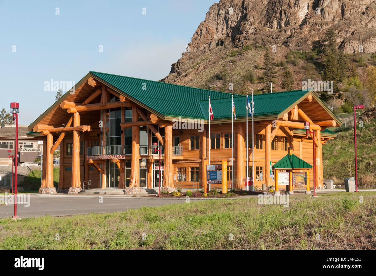 Elk203-3139 Kanada, Britisch-Kolumbien, Williams Lake, Tourismus Discovery Center Stockbild