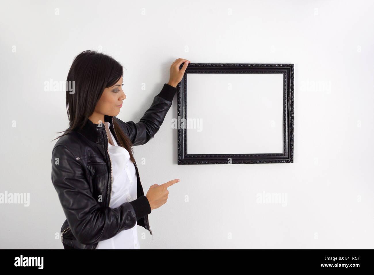 Woman Judge Pointing Stockfotos & Woman Judge Pointing Bilder - Alamy