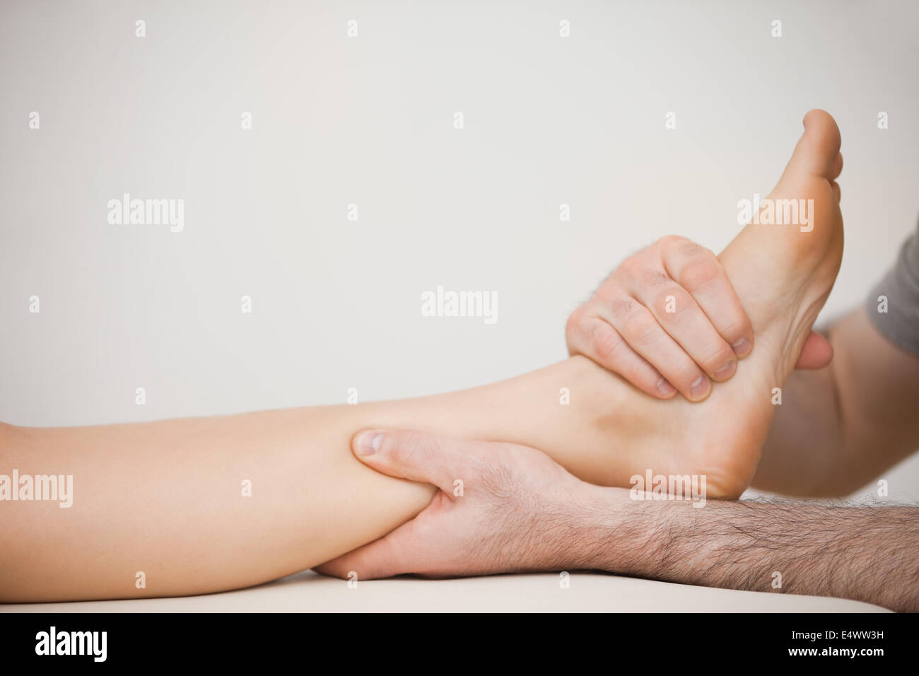 Muscle Of The Foot Stockfotos & Muscle Of The Foot Bilder - Alamy