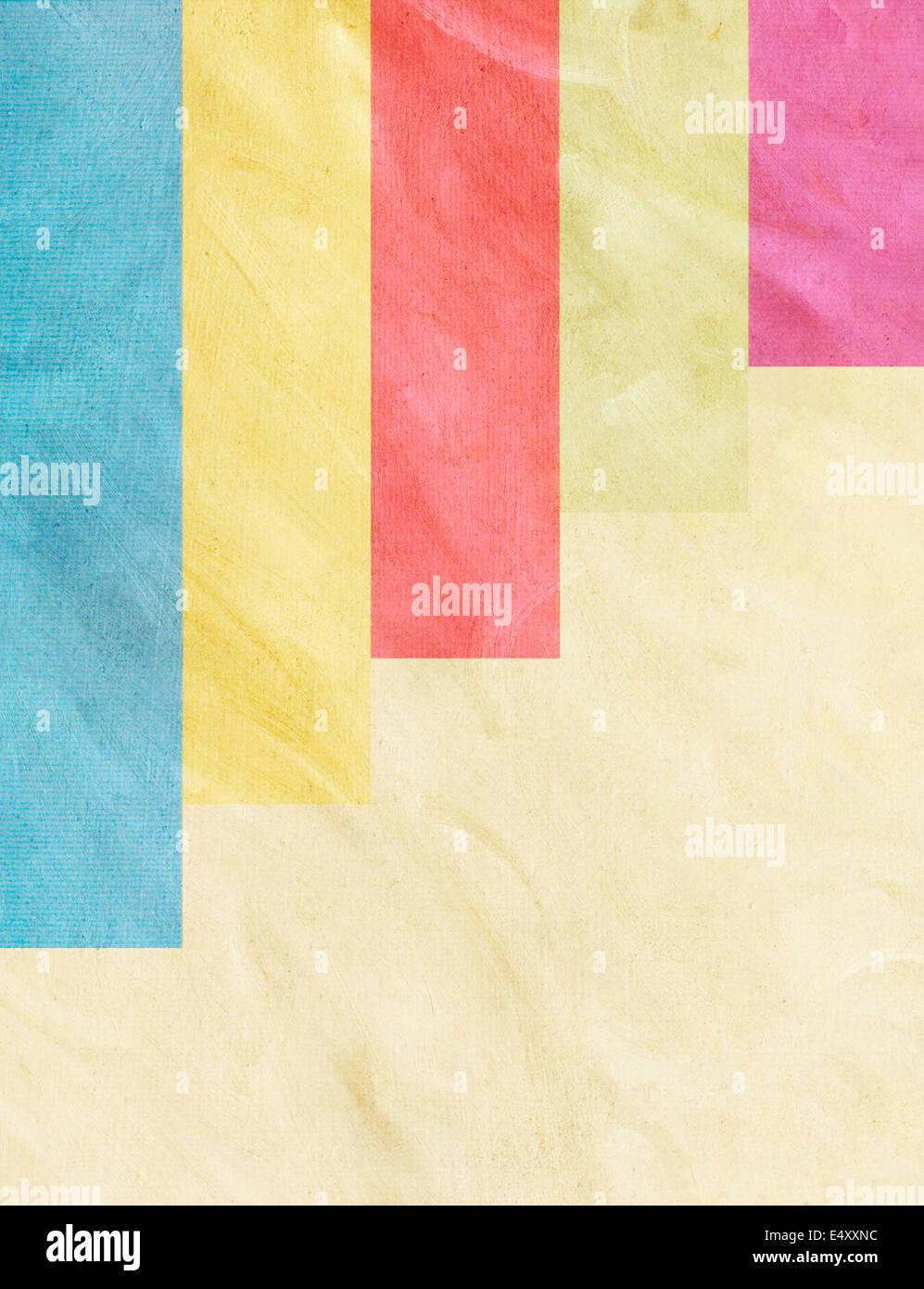 Echtes Papier hinzufügen Textur für Infografiken Stockfoto
