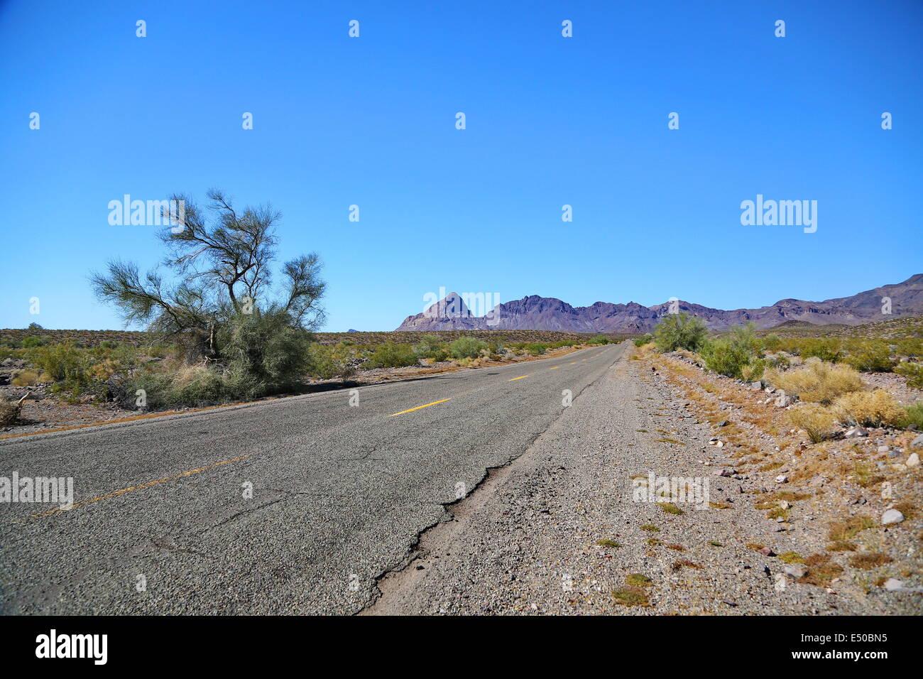 Route 66 Stockbild