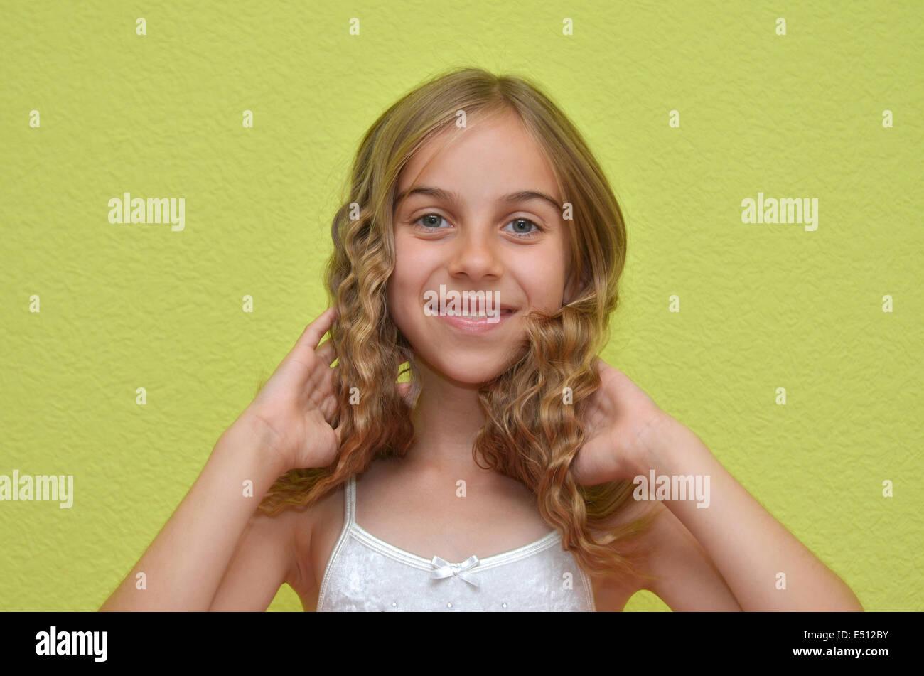 junges Mädchen Stockbild