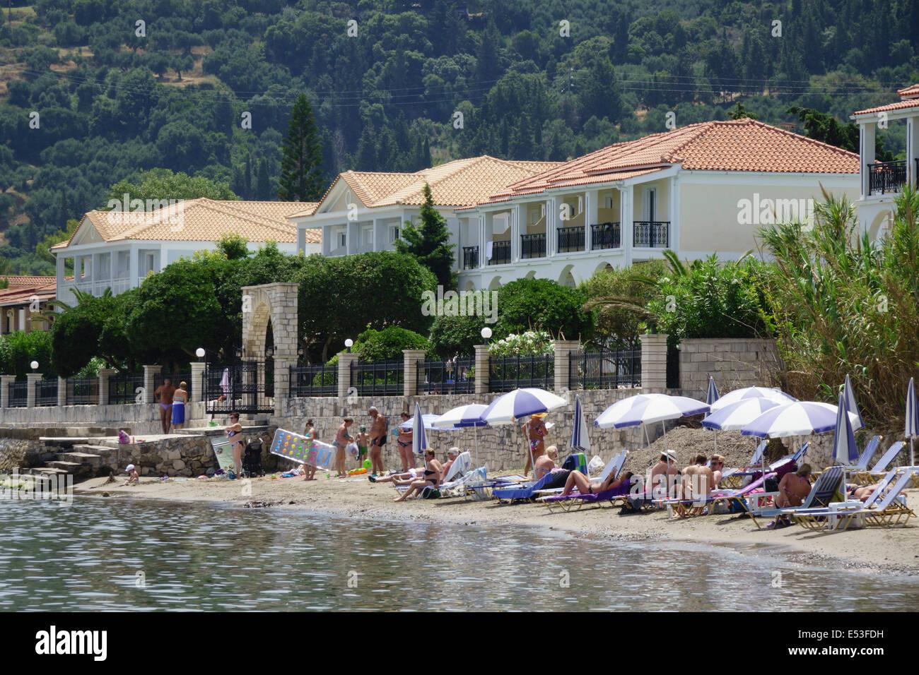 Zakynthos Griechenland Argassi Hotels Am Strand Ostlich Des