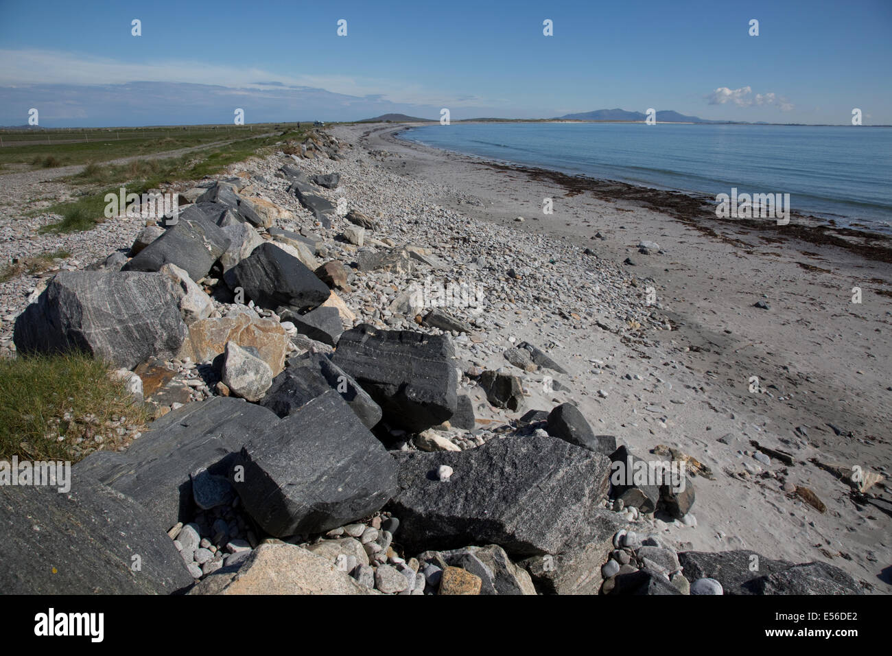 Knockintorran Beach North Uist äußeren Hebriden Scotland Stockfoto