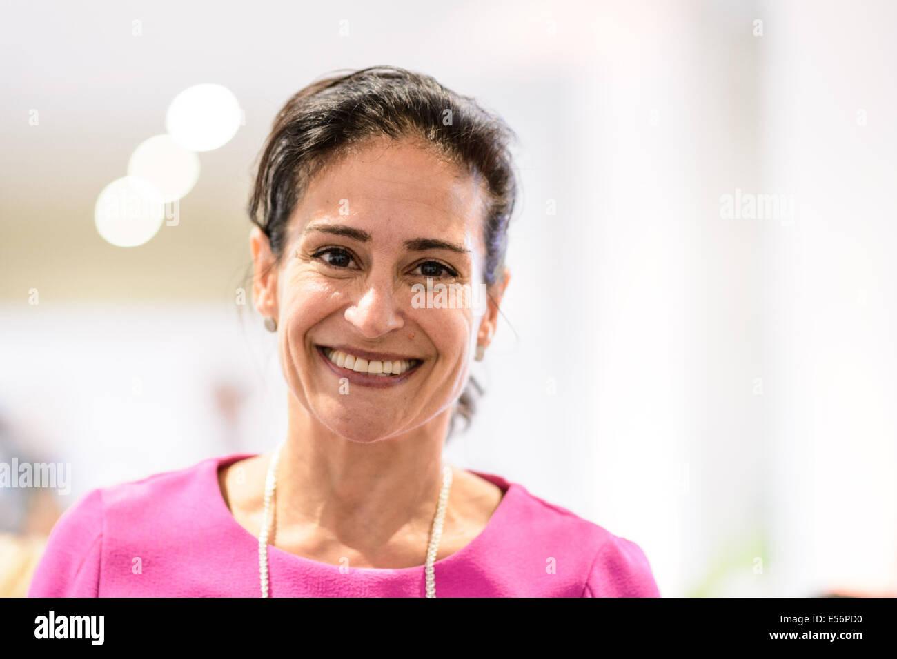 München/Deutschland - 21 Juli: Susan McPherson (McPherson-Strategien ...