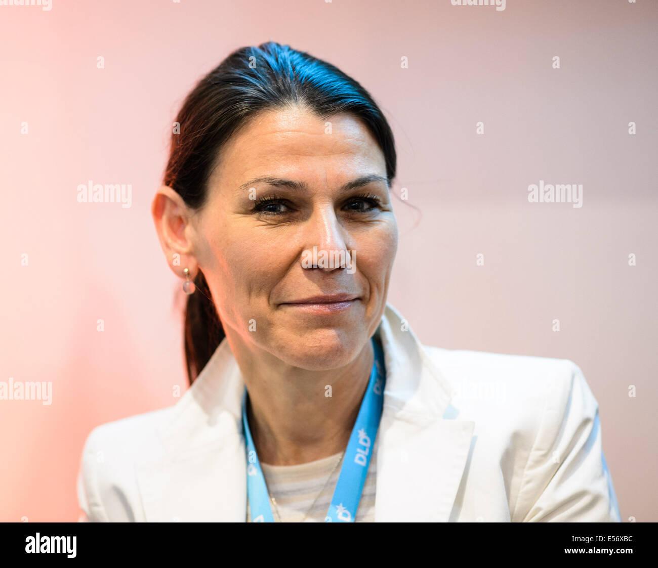 München/Deutschland - Juli 21: Marion Kiechle (TU München) im Rahmen ...