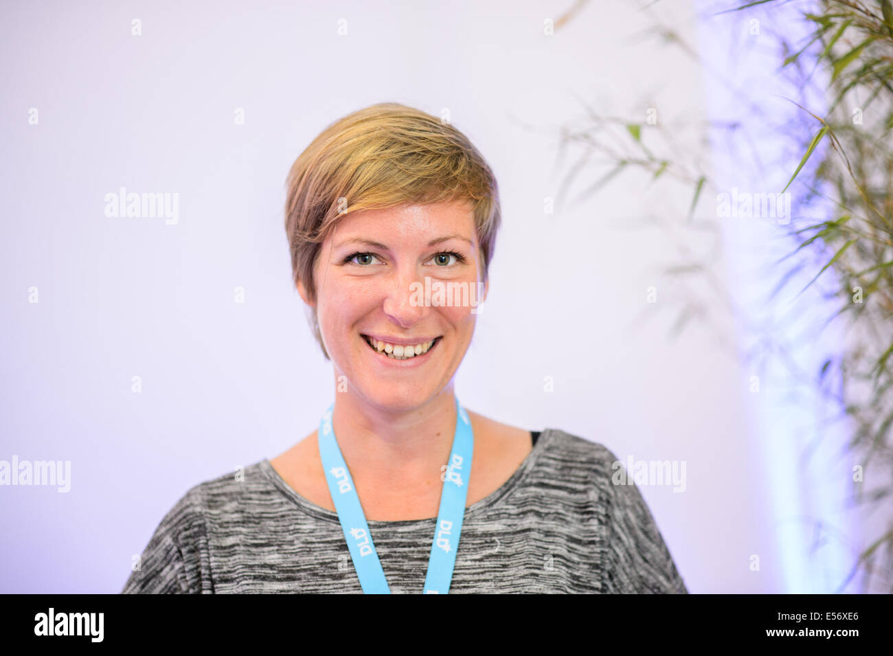 München/Deutschland - 21 Juli: Anna Mauersberger (UFA LAB) im Rahmen ...