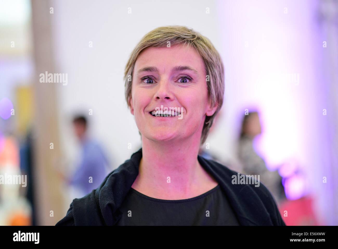 München/Deutschland - 21 Juli: Stefanie Bielen (Saal Zwei) im Rahmen ...