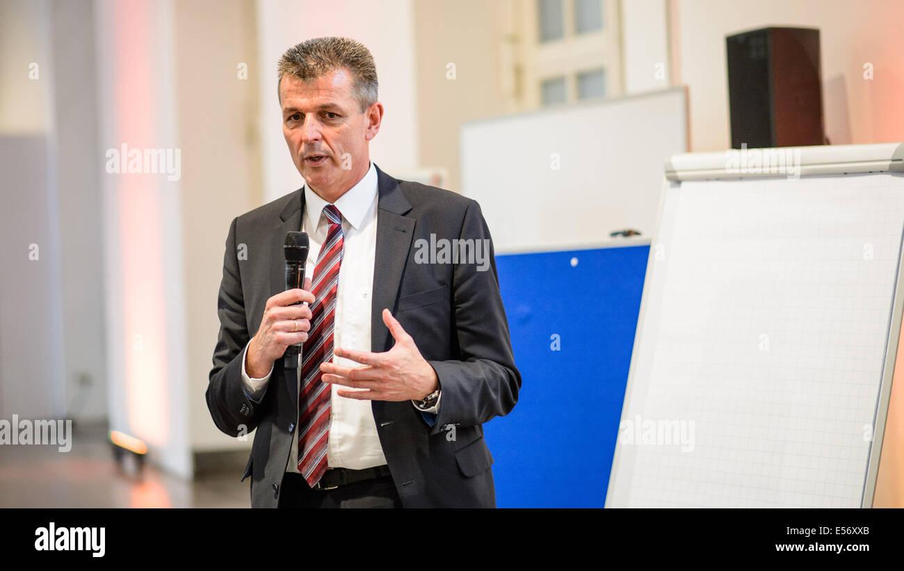 München/Deutschland - Juli 21: Markus Schramm (BMW) im Rahmen eines ...