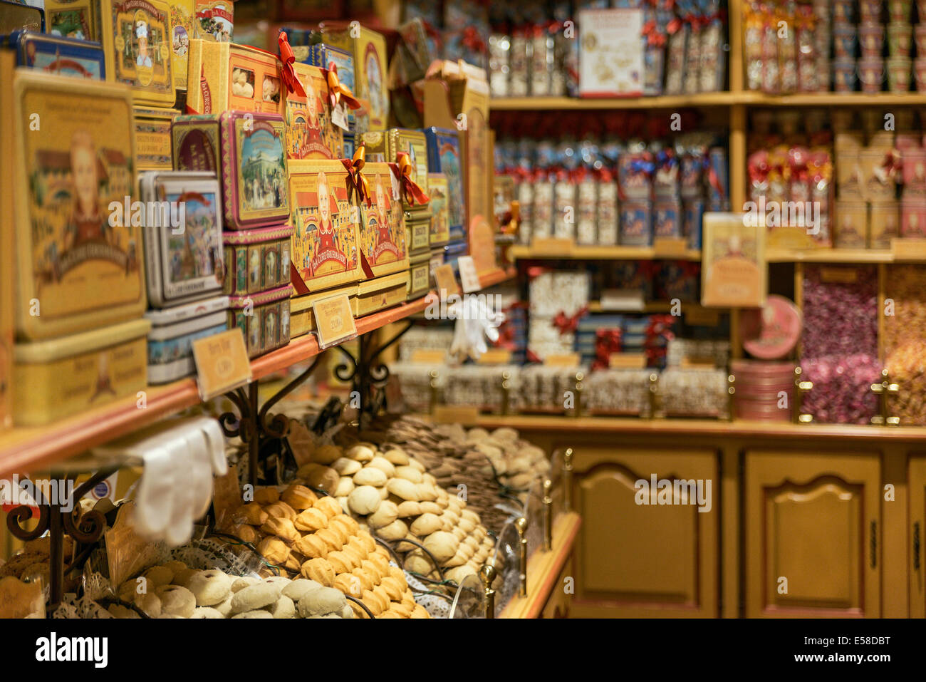 La Cure Gourmande, Saint Paul de Vence, Frankreich Stockbild