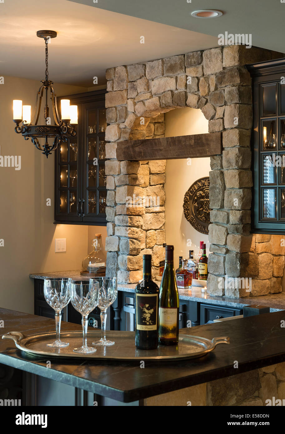 Basement Bar Stockfotos & Basement Bar Bilder - Alamy
