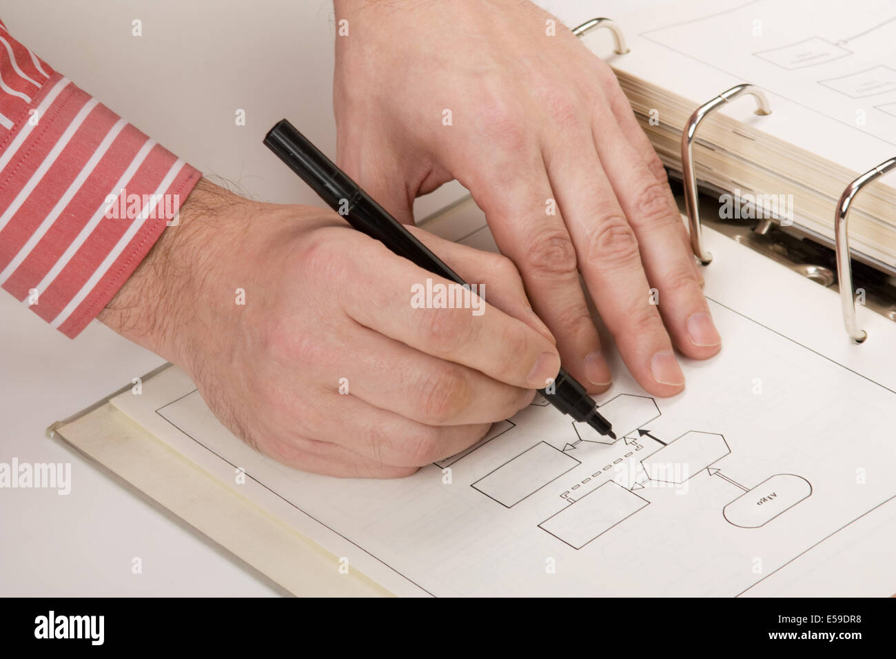 Fantastisch Technisches Zeichenwerkzeug Bilder - Elektrische ...