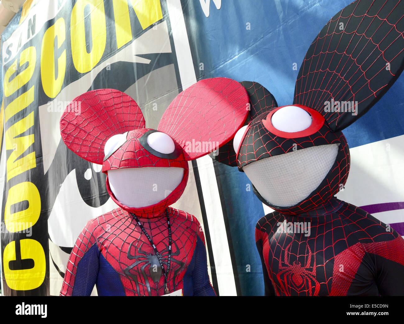 Spiderman datiert elsa