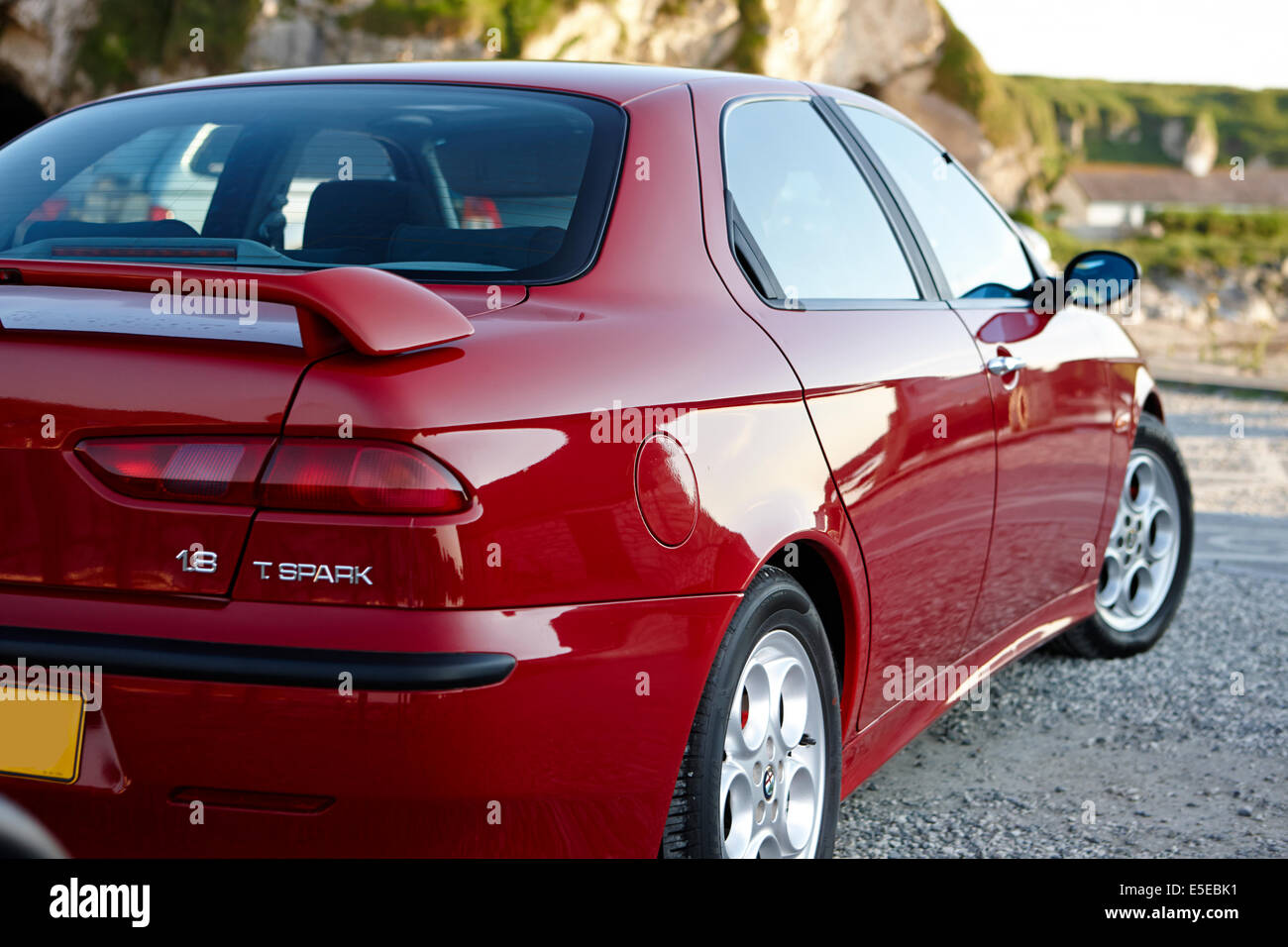Alfa Romeo 156 Stockbild