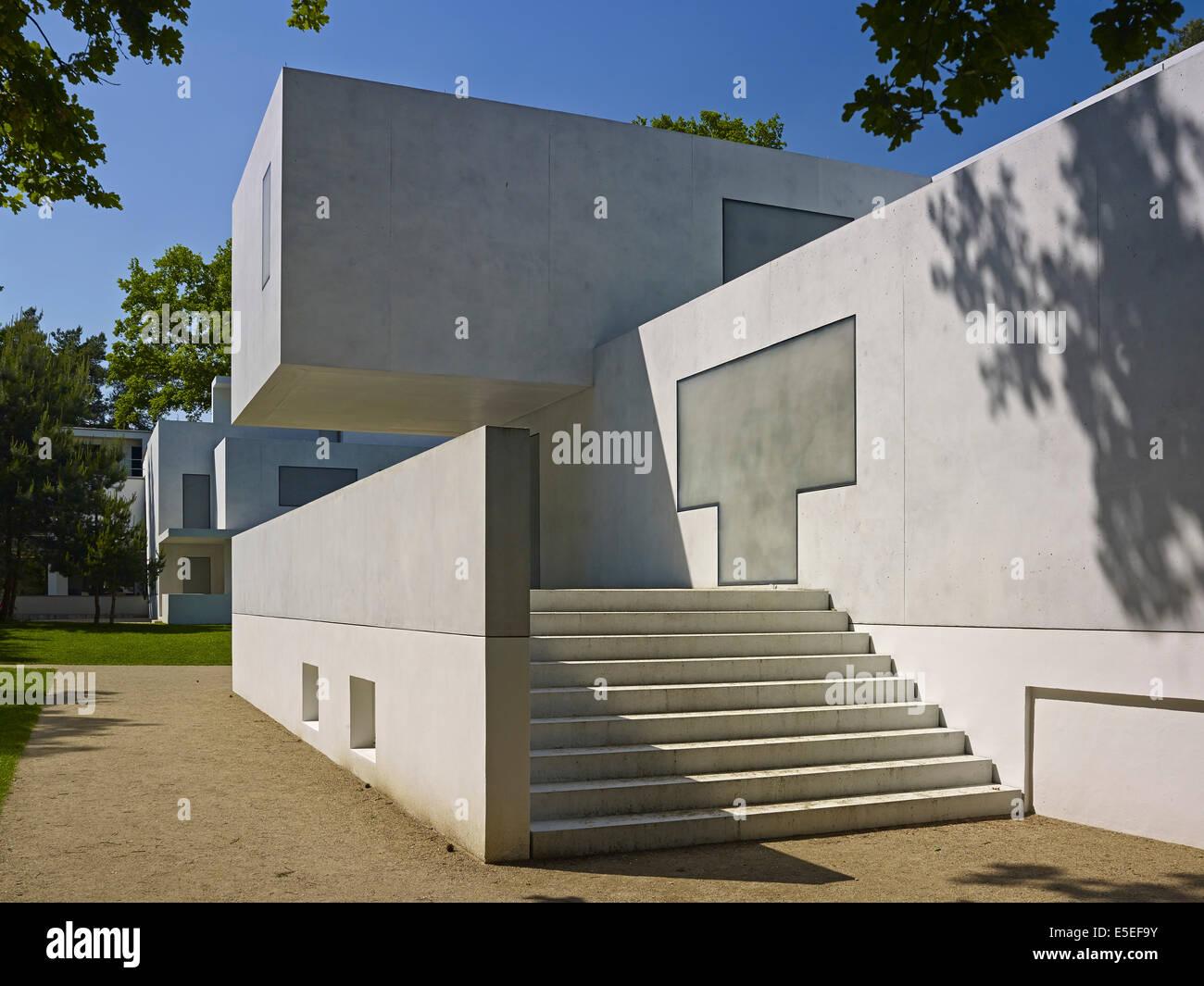 Gropius Haus Meister Häuser in Dessau Roßlau Deutschland