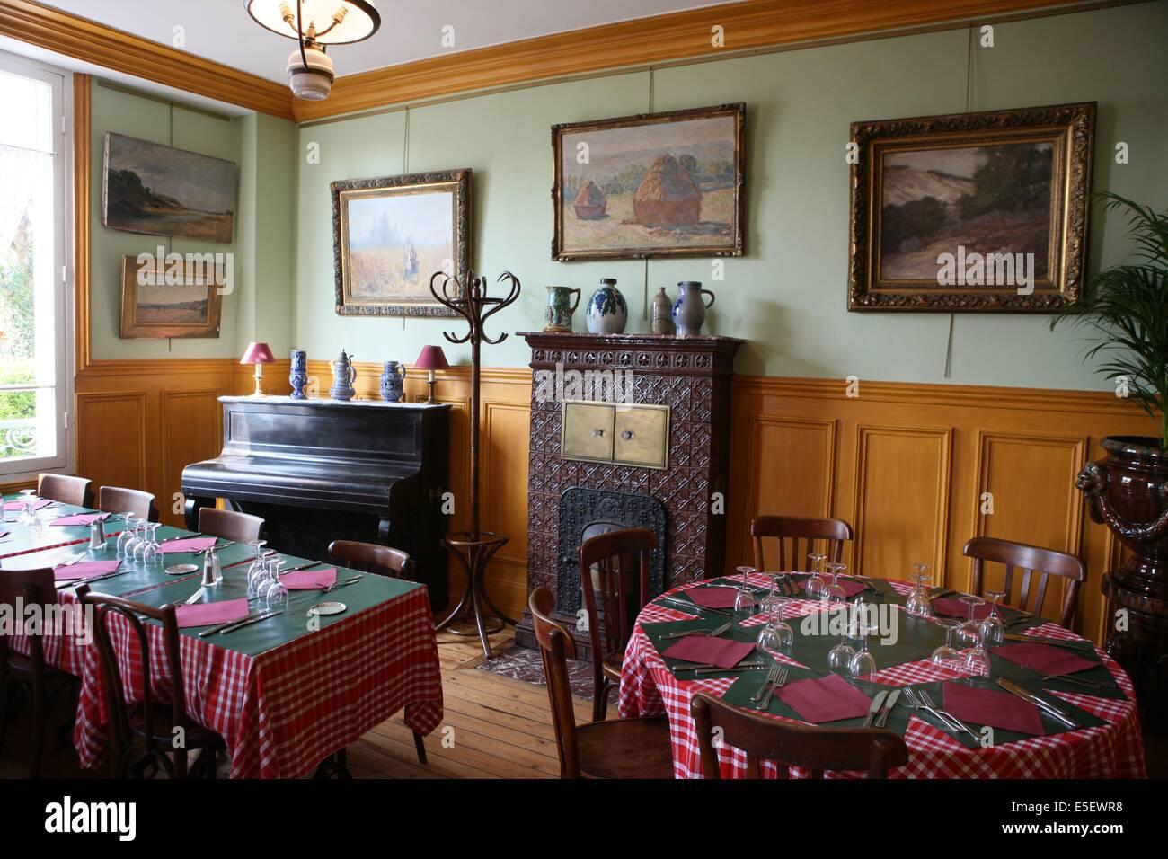 Monet Zimmer Stockfotos & Monet Zimmer Bilder - Alamy