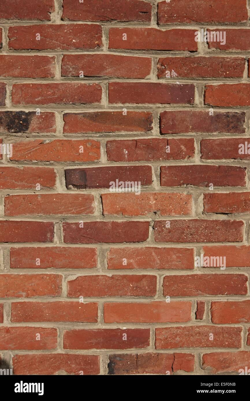 Frankreich paris detail d 39 un mur de briques materiau de bau maison terre cuite stockfoto - Terre contre mur maison ...