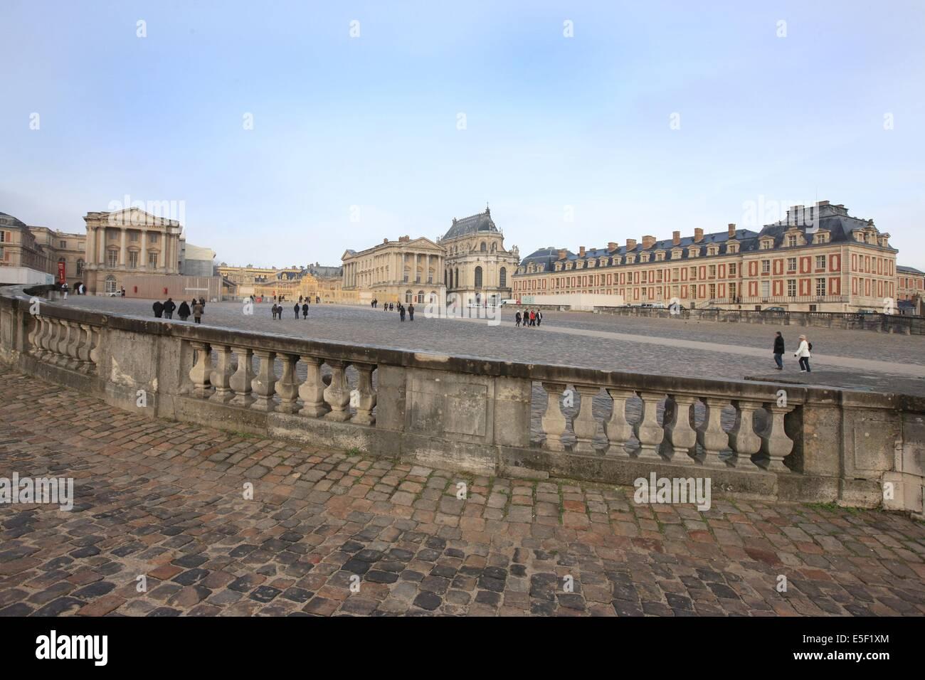 Frankreich, Ile de France, Yvelines, Versailles, Chateau de ...