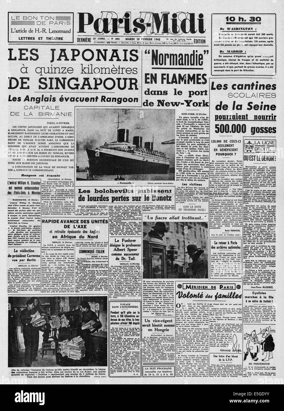 Feuer Auf Japanisch im hafen york feuer 1942 midi titelseite