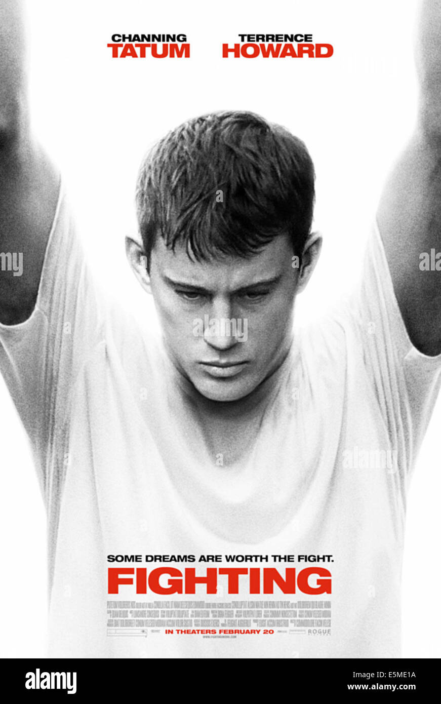 KÄMPFEN, Channing Tatum, 2009. PH: Phillip V. Caruso / © Rogue Bilder/Courtesy Everett Collection Stockbild