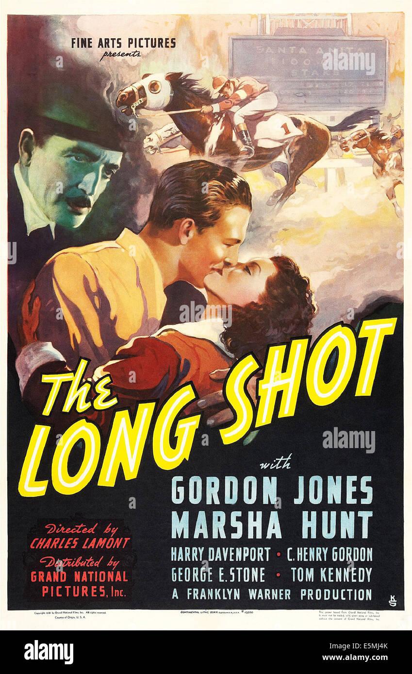 DIE totale US Plakatkunst, von links: C. Henry Gordon, Gordon Jones, Marsha Hunt, 1939 Stockbild