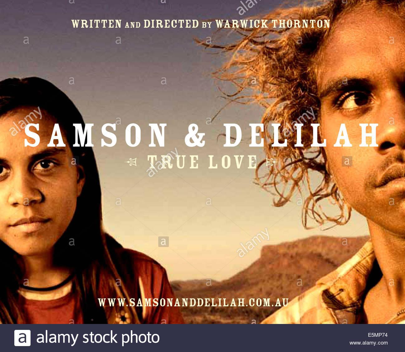 SAMSON Und DELILAH Aka Von Links Marissa Gibson Rowan McNamara 2009 C Fussabdruck Filme Courtesy Everett