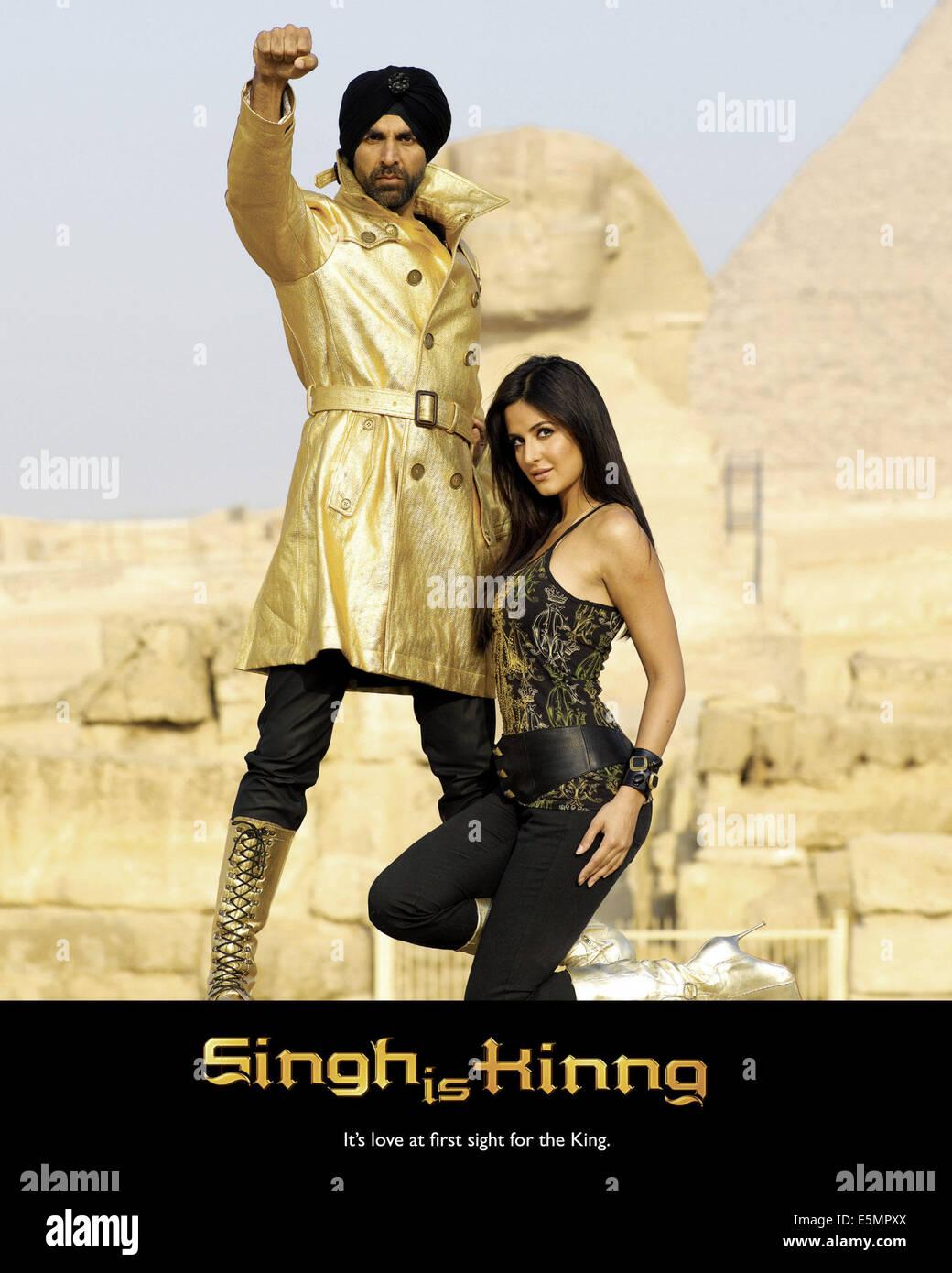 Singh Ist Kinng Von Links Akshay Kumar Katrina Kaif 2008