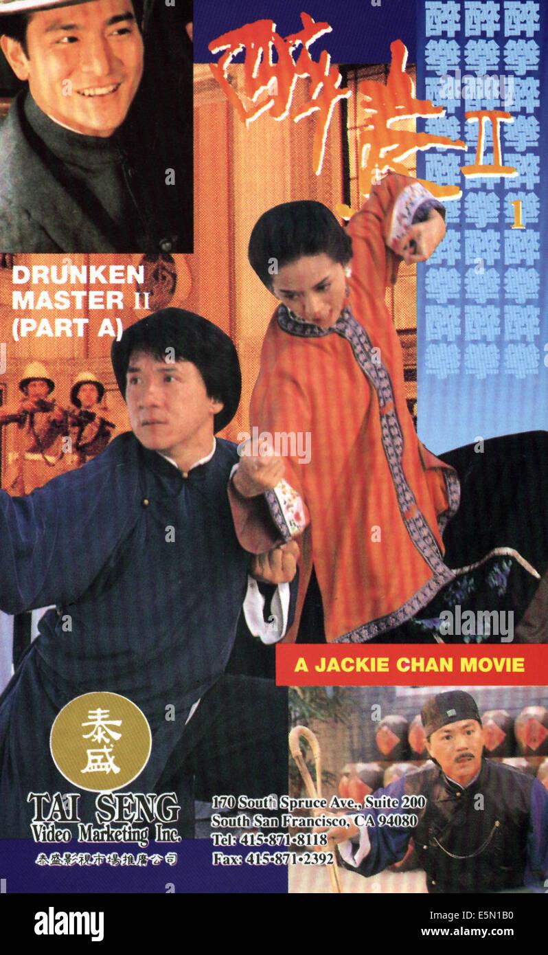 DRUNKEN MASTER, Jackie Chan, 1983 Stockbild