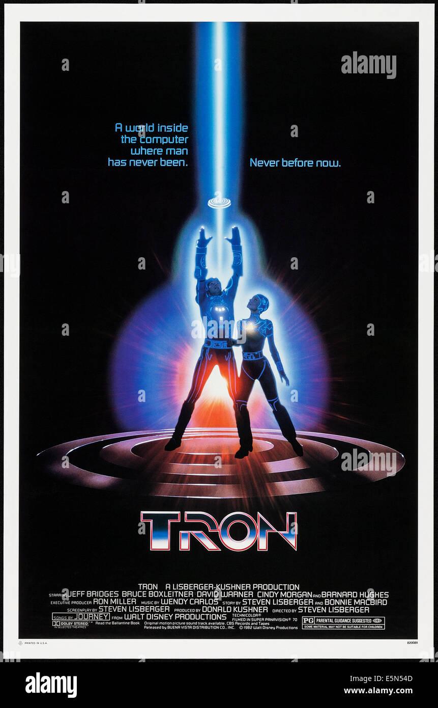 Tron 1982 Stockfoto Bild 72379789 Alamy