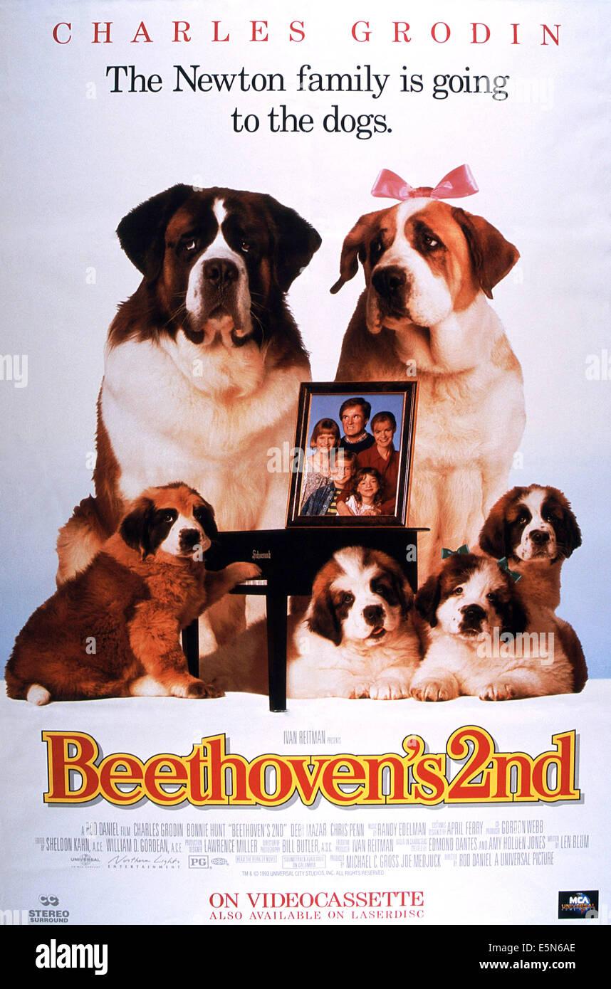 Beethovens 2., 1993, © Universal/Courtesy Everett Collection Stockbild