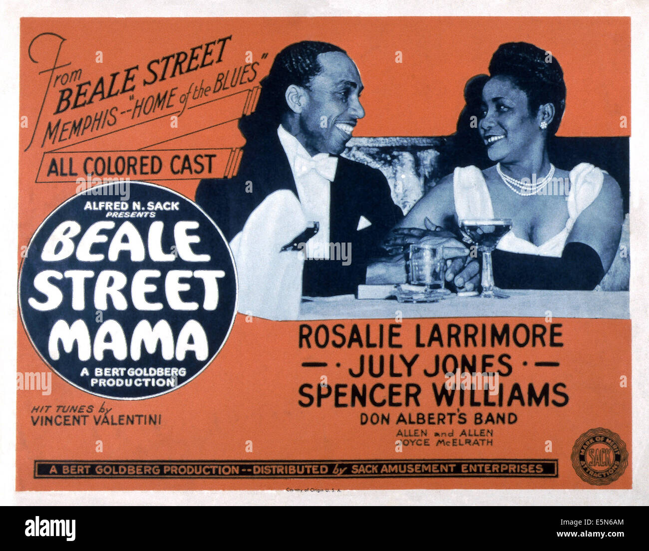 BEALE STREET MAMA, 1947 Stockbild