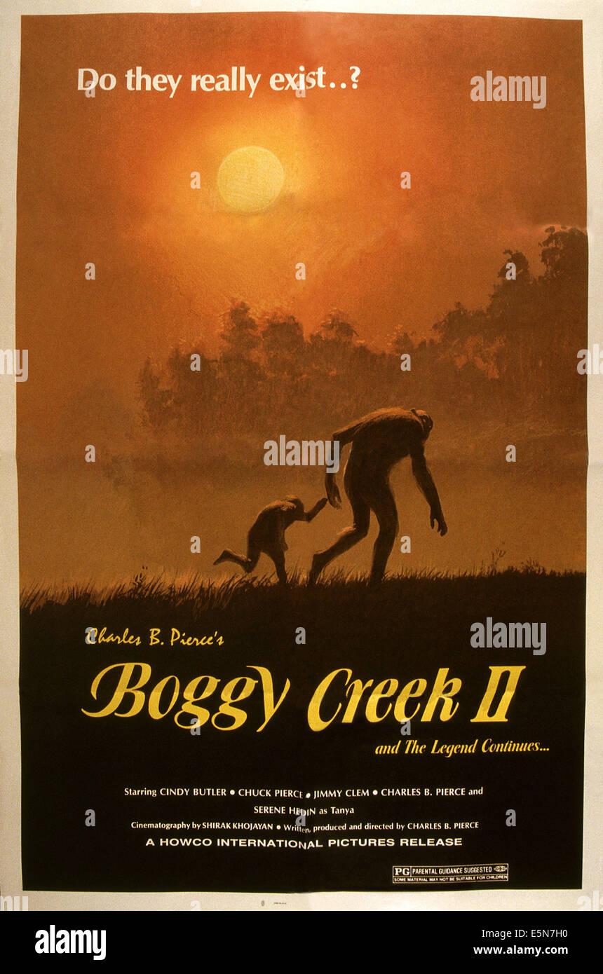 BOGGY CREEK II: Und THE LEGEND CONTINUES, 1985, © Howco International/Courtesy Everett Collection Stockbild