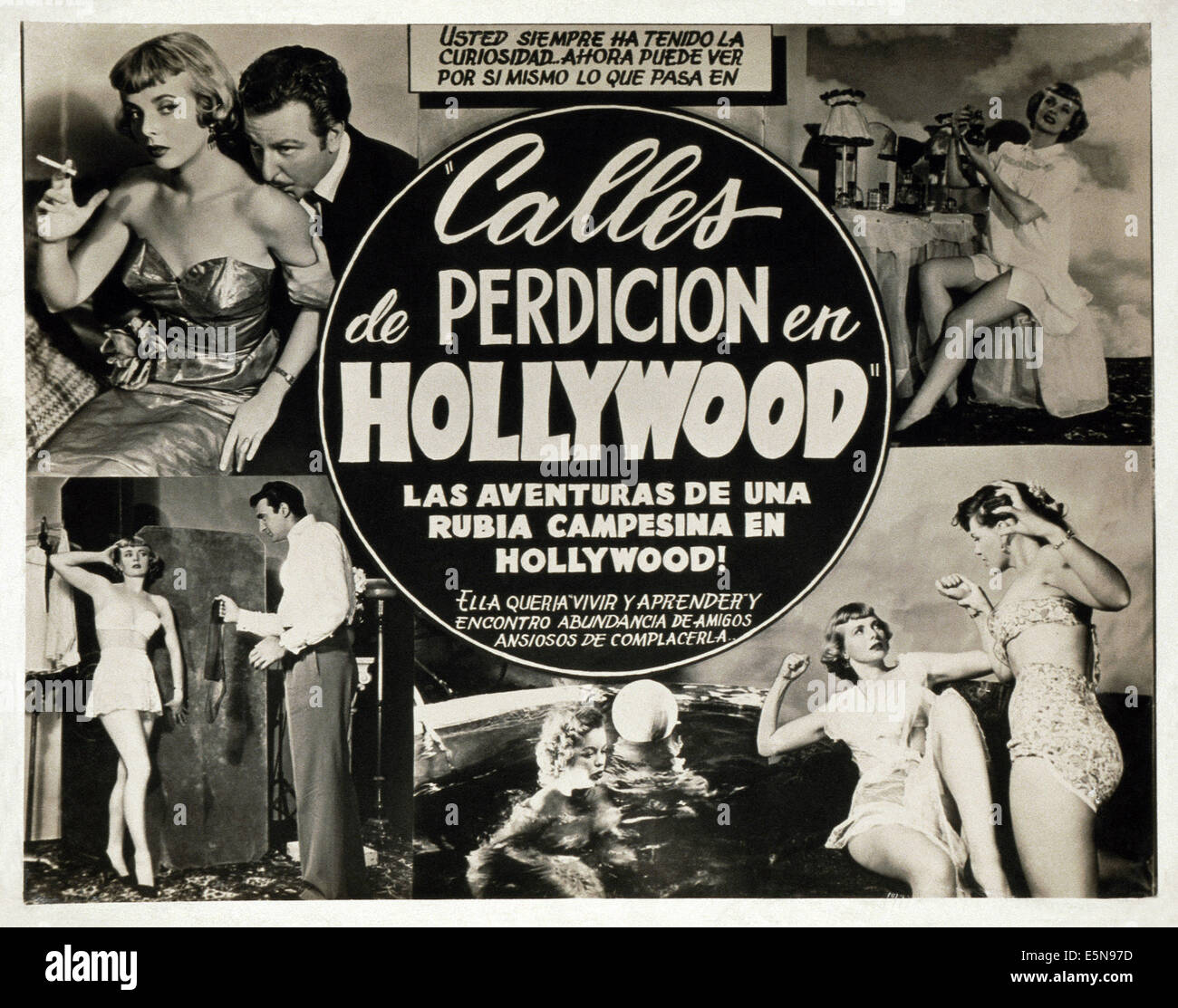 CALLES DE PERDICION EN HOLLYWOOD, (aka Strassen der Sünde IN HOLLYWOOD), ca. 1950er Jahre Stockbild