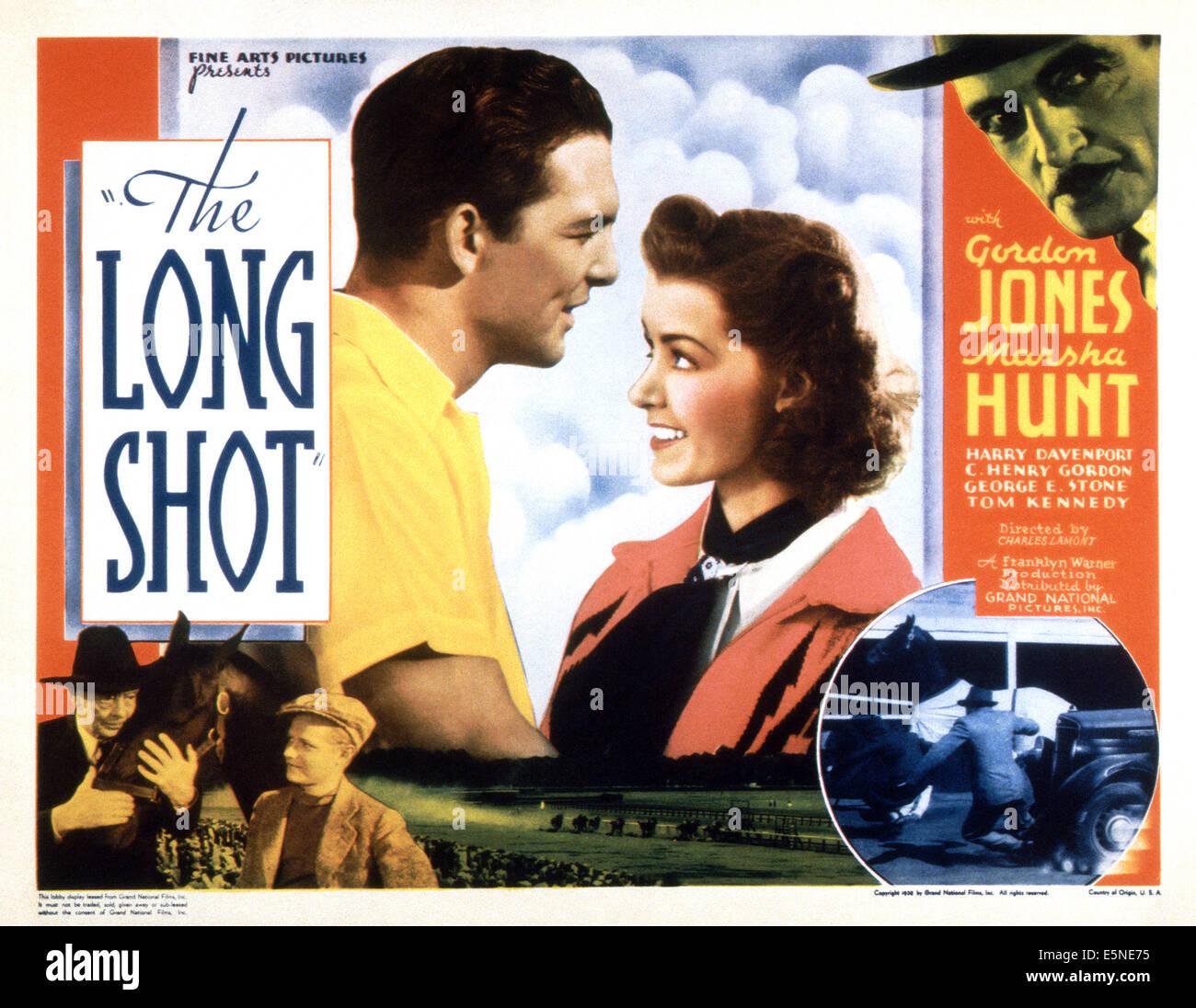 LONG SHOT, Center: Gordon Jones, Marsha Hunt; unten links: Harry Davenport, 1939 Stockbild