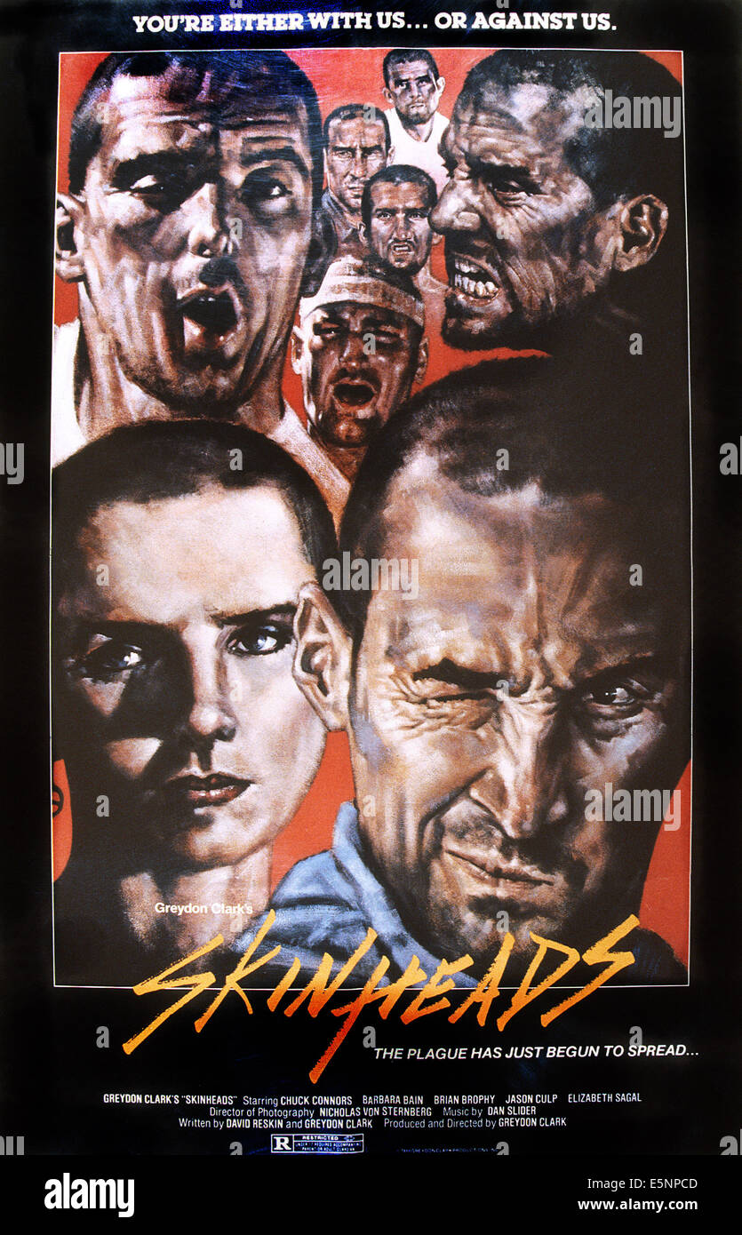 Filme Skinhead intended for skinhead art stockfotos & skinhead art bilder - alamy