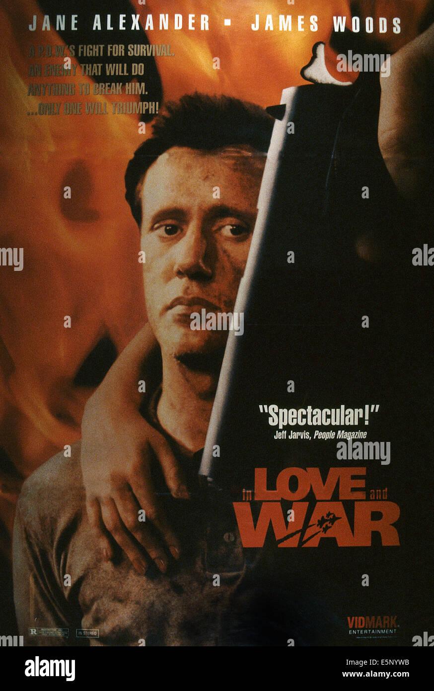 IN Liebe und Krieg, James Woods, 1987, © NBC/Courtesy Everett Collection Stockbild