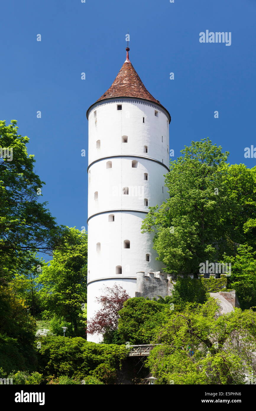 Gigelturm Turm, Biberach ein der Riss, Oberschwaben, Baden-Württemberg, Deutschland, Europa Stockfoto