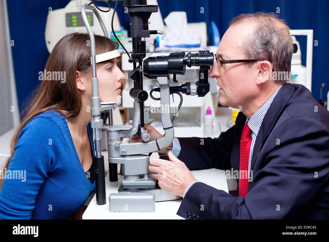 Fundus Of The Eye Stockfotos und -bilder Kaufen - Alamy