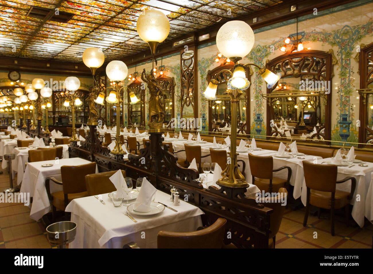 Restaurant im Art Nouveau Stil \