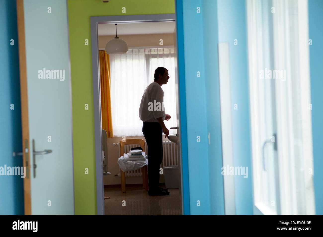 Psychiatrische Klinik Stockbild