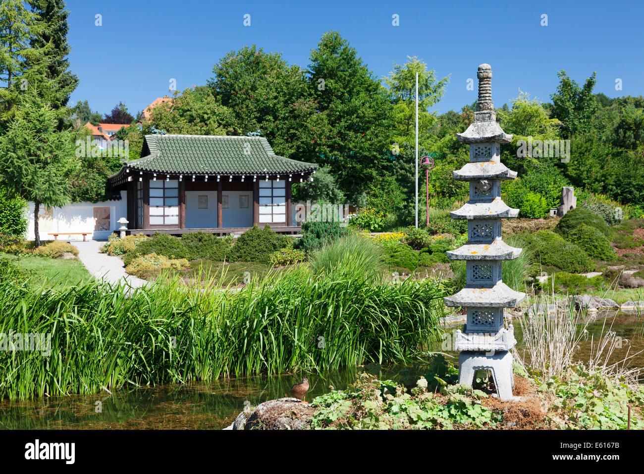 traditionelle teehaus und pagode in den japanischen garten bonndorf schwarzwald baden. Black Bedroom Furniture Sets. Home Design Ideas